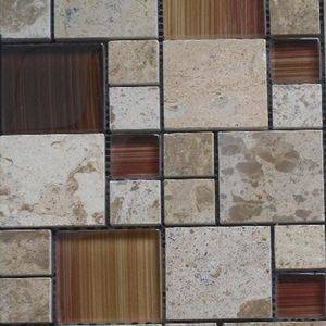 Glass Marble Mosaic Tiles/Sheet Supplier/Exporter