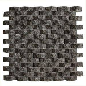 3D Basalt Mosaic Tiles/Sheet Supplier/Exporter