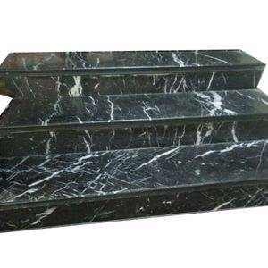 Black Marquina Marble Stair/Step