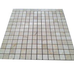 Light Beige Marble Mosaic Tile