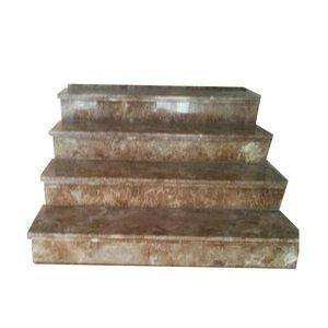 Polished Brown Marble Stone Stair