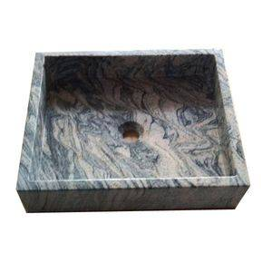 Square Juparana Kitchen Granite Sink