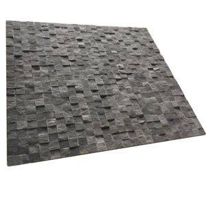 Natural Split Basalt Mosaic Tile