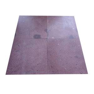 Honed Red Porfido Floor Tile